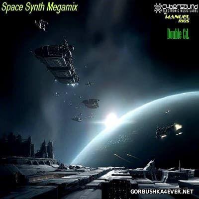 Manuel Rios DJ - SpaceSynth Megamix [2017] / 2xCD