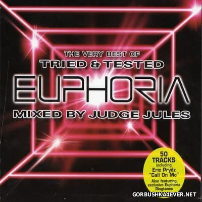 The Very Best Of Tried & Tested Euphoria [2004] / 3xCD / Mixed by Judge Jules
