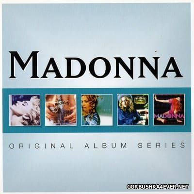 Madonna - Original Album Series [2012] / 5xCD