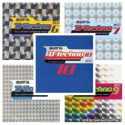 Gary D. presents D-Techno 06 - 10 [2003-2004] / 15xCD