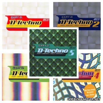 Gary D. presents D-Techno 01 - 05 [2000-2002] / 15xCD
