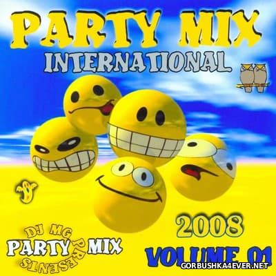DJ MG - Party Mix vol 01 [2008]