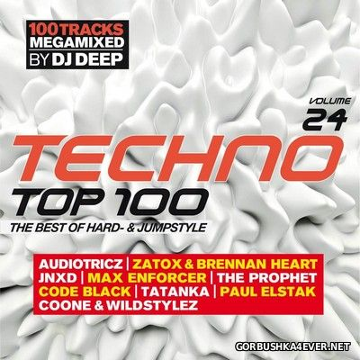[SWG Team] Techno Top 100 vol 24 [2017] / 2xCD / Mixed by DJ Deep