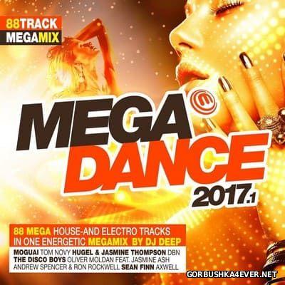 Megadance 2017.1 / 2xCD / Mixed by DJ Deep