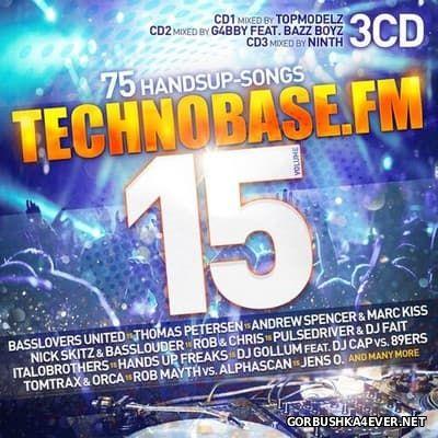 Technobase.FM vol 15 [2017] / 3xCD
