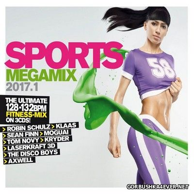 Sports Megamix 2017.1 [2017] / 3xCD