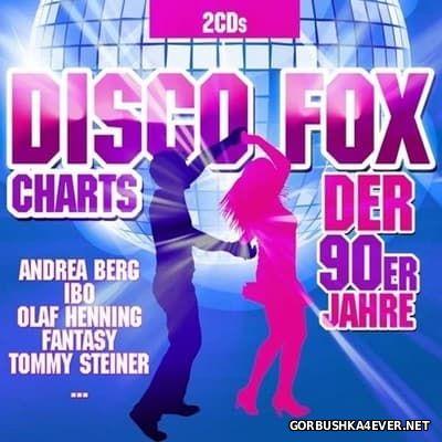 Disco Fox Charts der 90er Jahre [2017] / 2xCD