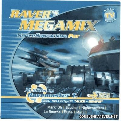 Raver's Megamix (Danceflooraction Pur) [1995] / 2xCD / Mixed by Ravemaster T
