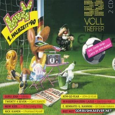 Larry presents Halbzeit '90 (32 Volltreffer) [1990] / 2xCD