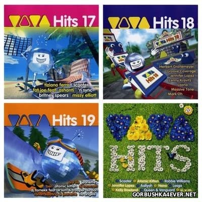 Viva Hits vol 17 - vol 21 [2002-2003] / 10xCD