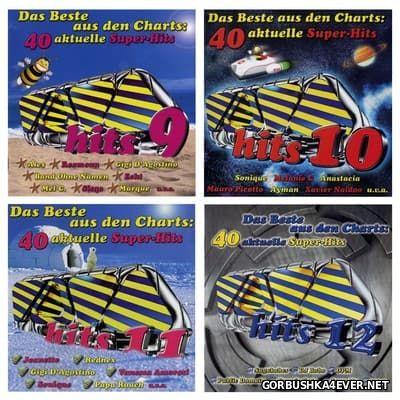 Viva Hits vol 09 - vol 12 [2000-2001] / 8xCD