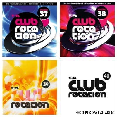 Viva Club Rotation vol 37 - vol 40 [2007-2008] / 8xCD