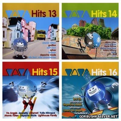Viva Hits vol 13 - vol 16 [2001-2002] / 8xCD