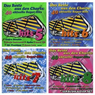 Viva Hits vol 05 - vol 08 [1999-2000] / 8xCD