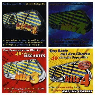Viva Hits vol 01 - vol 04 [1998-1999] / 8xCD