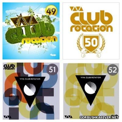 Viva Club Rotation vol 49 - vol 52 [2011-2012] / 8xCD