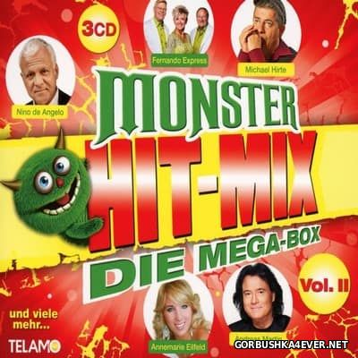 Monster Hit-Mix - Die Mega-Box vol 2 [2017] / 3xCD