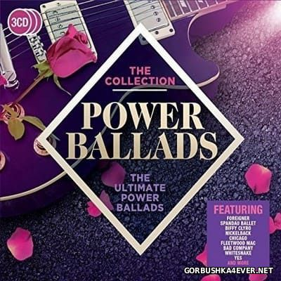 [The Collection] Power Ballads - The Ultimate Power Ballads [2017] / 3xCD