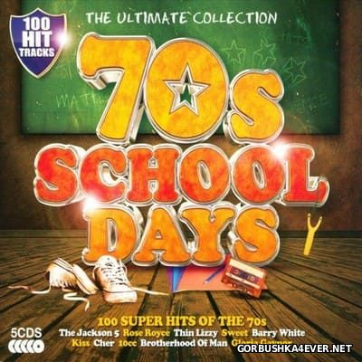 100 Hits - 70's School Days [2013] / 5xCD