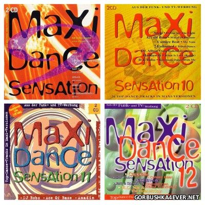 Maxi Dance Sensation vol 09 - vol 12 [1993-1994] / 8xCD