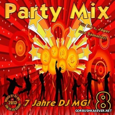 DJ MG - Party Mix vol 08 [2013]