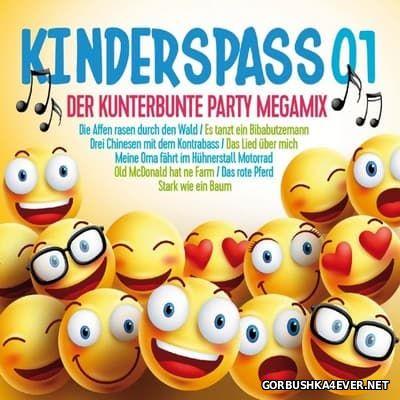 Kinderspass 01 - Der Kunterbunte Party Megamix [2017] / 3xCD