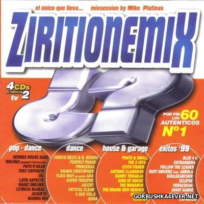 [Tempo Music] ZiritionemiX [1999] / 4xCD