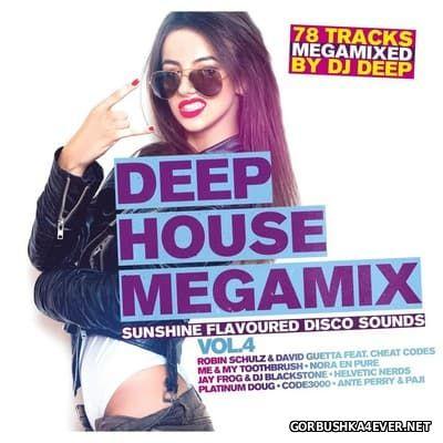 Deep House Megamix vol 4 [2017] / 2xCD / Mixed by DJ Deep