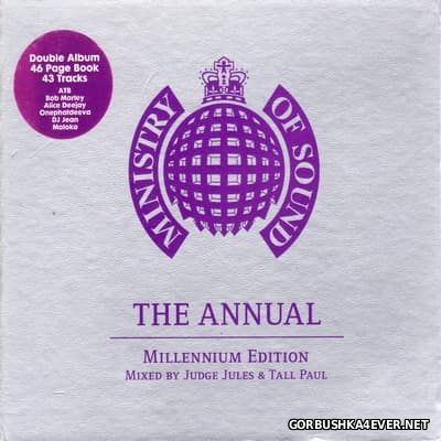 [Ministry Of Sound] The Annual - Millenium Edition [1999] / 2xCD / Mixed By Judge Jules & Tall Paul