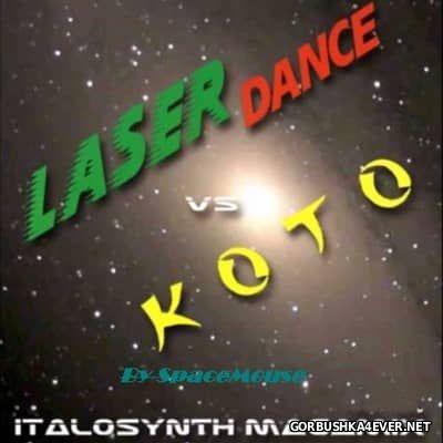 DJ SpaceMouse - Laserdance vs Koto Megamix [2016]
