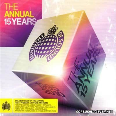 [Ministry Of Sound] The Annual 15 Years (1995-2010) [2010] / 3xCD