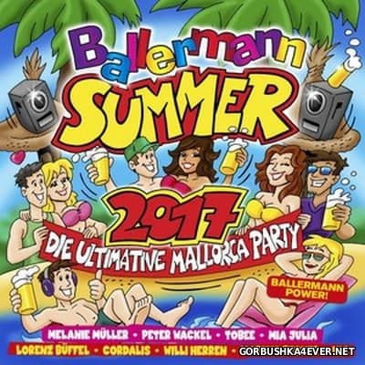 Ballermann Summer 2017 - Die Ultimative Mallorca Party [2017] / 3xCD