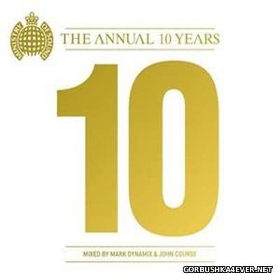 [Ministry Of Sound] The Annual 10 Years [2011] / 2xCD / Australian Edition