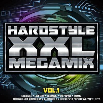 Hardstyle XXL Megamix vol 1 [2017] / 2xCD