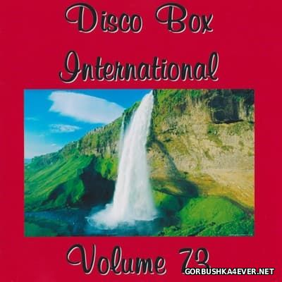 Disco Box International vol 73 [2017] / 2xCD