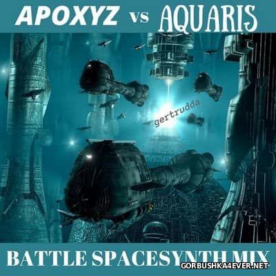 Apoxyz vs Aquaris - SpaceSynth Battle Mix 2017