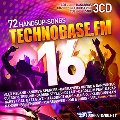 Technobase.FM vol 16 [2017] / 3xCD