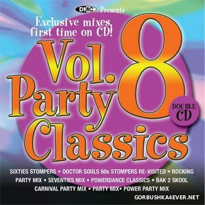 DMC Party Classics - The Ultimate Collection Of Party Mixes - vol 08 [2013] / 2xCD