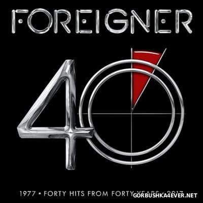 Foreigner - 40 (Forty Hits From Forty Years) [2017] / 2xCD