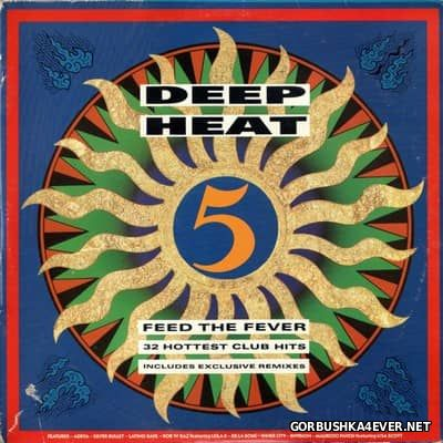 [Telstar] Deep Heat 5 - Feed The Fever [1990] / 2xCD