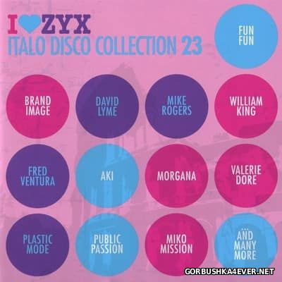 ZYX Italo Disco Collection vol 23 [2017] / 3xCD