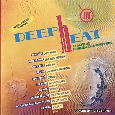 [Eurostar] Deep Heat III [1991] / 2xCD