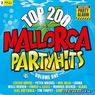 Mallorca Partyhits Top 200 vol 1 [2017] / 3xCD / Mixed by DJ Deep