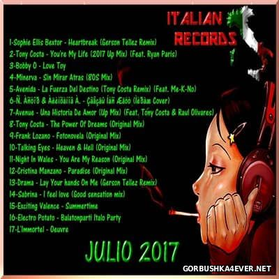 DJ Divine - Italian Records Julio Mix 2017