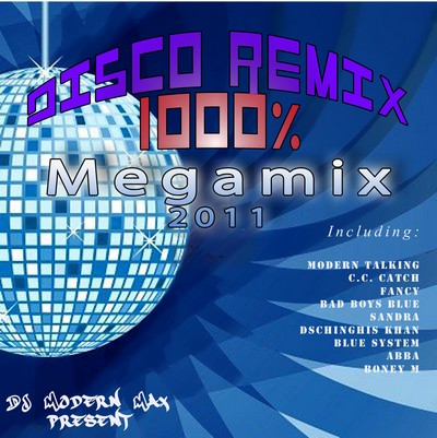 1000% Disco Remix Megamix [2011]