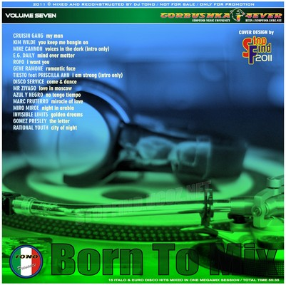 DJ Tono - Born To Mix volume 07 [2011]
