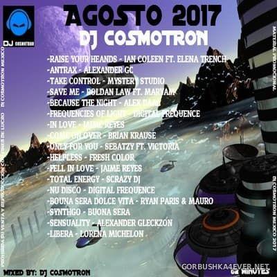 DJ Cosmotron - Agosto NRG Mix 2017