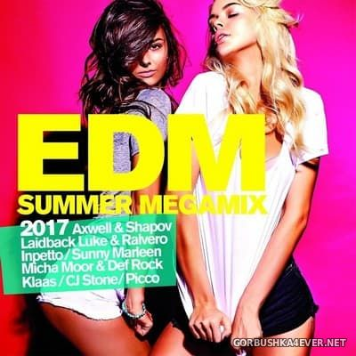EDM Summer Megamix 2017 [2017] / 2xCD / Mixed by DJ Deep