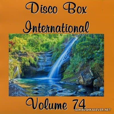 Disco Box International vol 74 [2017] / 2xCD
