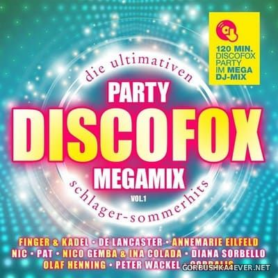 Discofox Party Megamix vol 1 [2017] / 2xCD / Mixed by DJ Deep